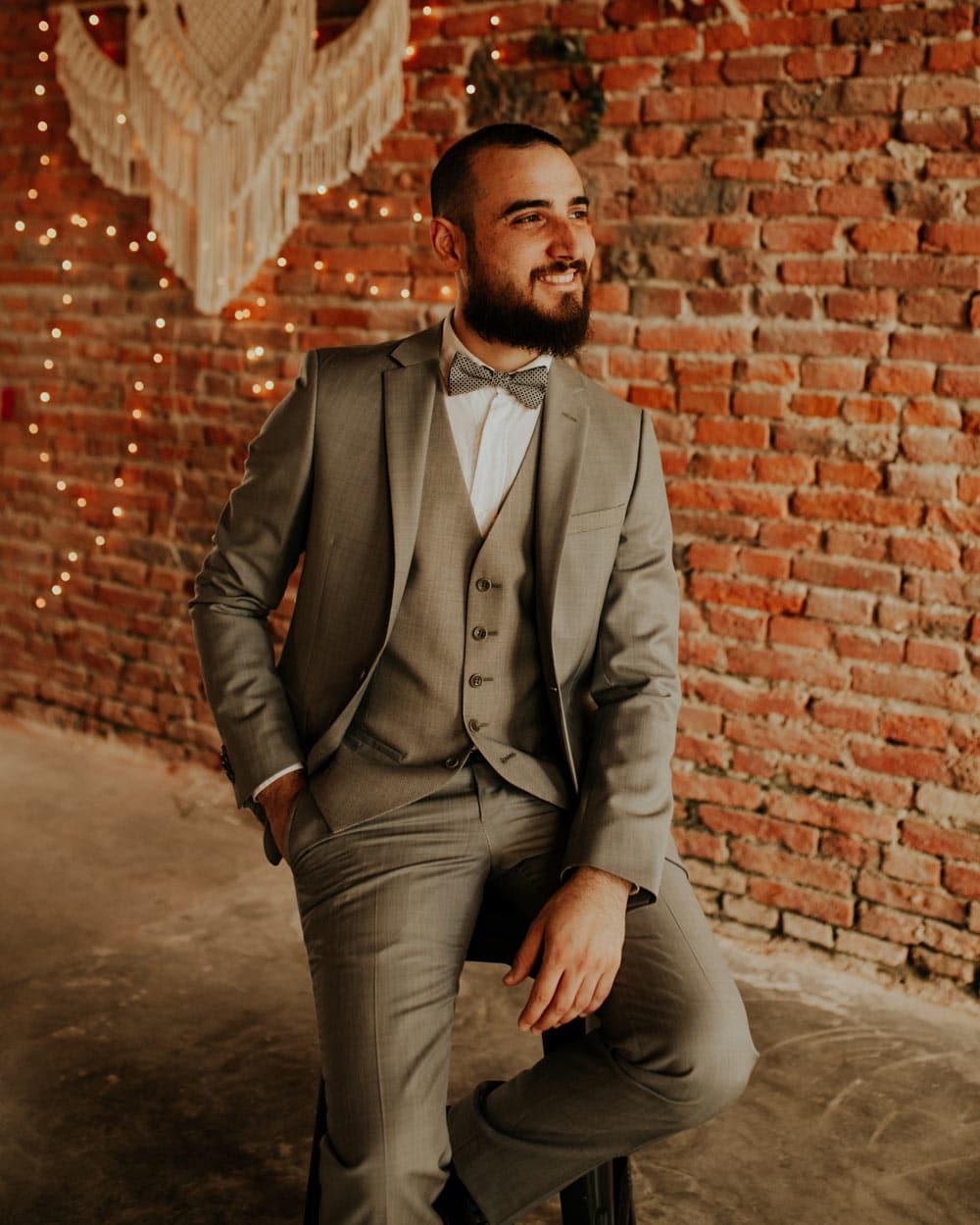 Adrian Delli Compagni, le batteur de Lady L Trio groupe de Jazz Toulouse