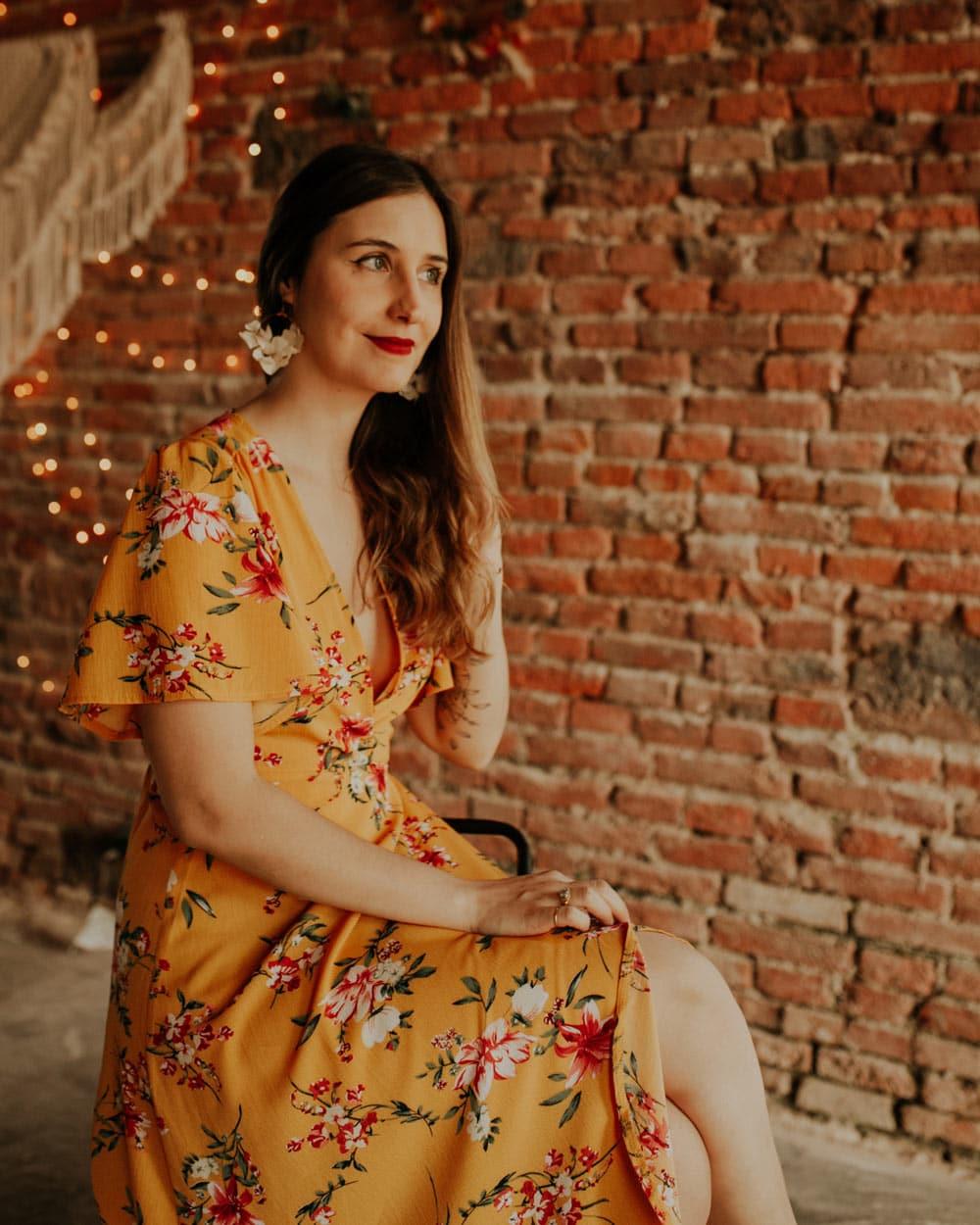 Adrian Léna Boussellier, la chanteuse de Lady L Trio groupe de Jazz Toulouse