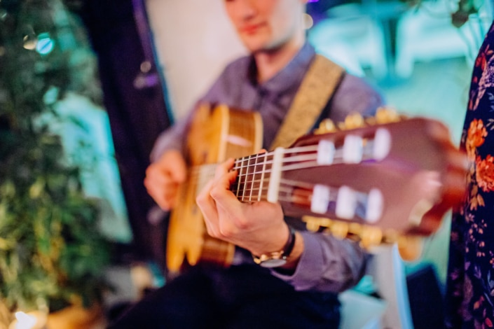 Anthony Darreux guitariste Lady L Trio groupe jazz mariage Toulouse