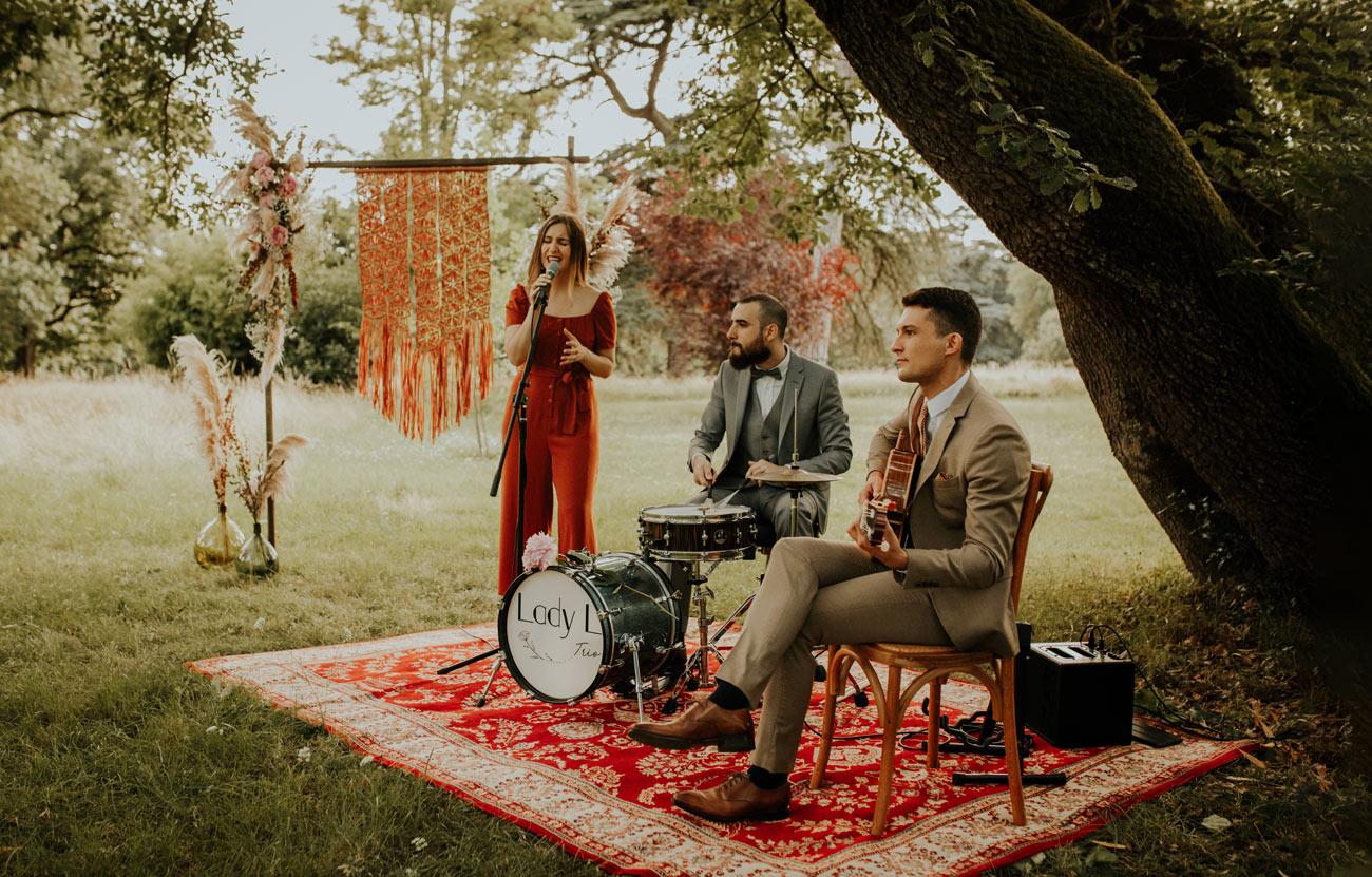 Lady L Trio, Groupe de jazz pour les Cérémonies Laïques et Religieuses de Mariages et de Baptêmes à Toulouse