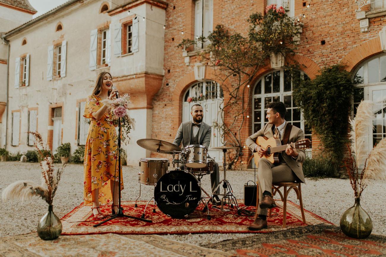 Lady L Trio, Groupe de jazz pour les Vins d'Honneur de Mariages et de Baptêmes à Toulouse
